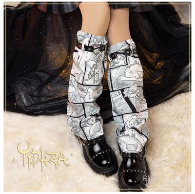 taobao agent Yidhra Dream Witch Original {宇航兔}lolita Jk Uniform Bad Girl Japanese Leg Set