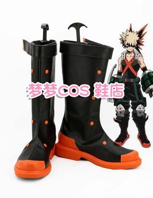 taobao agent No. 2890 My Hero Academia Bakugo Katsuki COSPLAY shoes COS shoes anime shoes customized with drawings