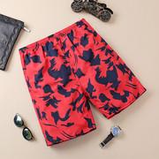 Bãi biển quần nam khô nhanh năm điểm quần short vài quần bên bờ biển kỳ nghỉ boxers lỏng kích thước lớn quần lớn quần nam