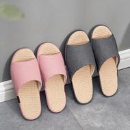 giày Bắc Âu mùa hè lanh bông dép nặng có đáy chống trượt nặng đáy vài cái đó đến nhà hộ gia đình mềm đáy nam Four Seasons