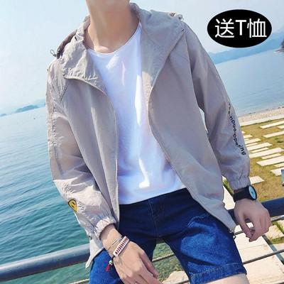 Sun bảo vệ quần áo bé trai áo khoác Hàn Quốc phiên bản của các xu hướng mỏng của breathable thanh niên đẹp trai cá tính 2018 mùa hè mới áo khoác Áo khoác