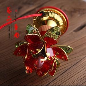 New tôn giáo Phật Giáo cung cấp đỏ Phật Giáo ngôi đền sen đèn Phật cho ánh sáng cho Phật ánh sáng sen Changming đèn
