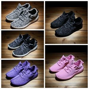 Lu Wei 1515 giày thường giày cắt thấp mùa hè và mùa thu giày thủy triều Hàn Quốc phiên bản của bỏng ngô bay dòng bay dệt giày lưới vài mô hình