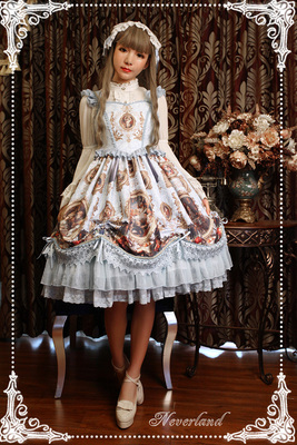 taobao agent Soufflesong exclusive design【Magic Night Museum】Pull-up lolita dress is out of stock
