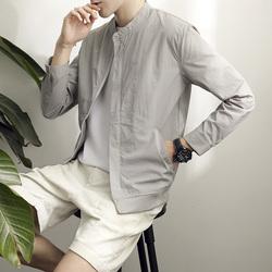 男士防晒衣夏季2017新款外套韩版夹克薄款防晒服休闲棒球服潮男装