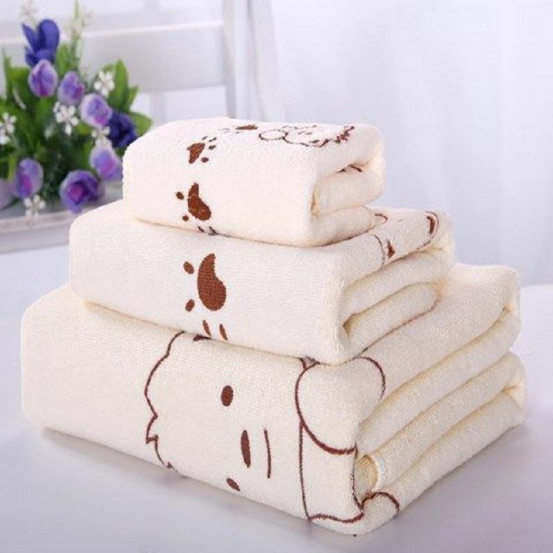 11-30新券浴巾三件套比纯棉全棉柔软吸水款