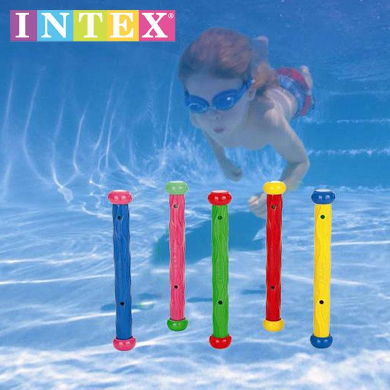 Bơi của trẻ em viện trợ hồ bơi chơi đồ chơi INTEX lặn stick 55504 dưới nước snorkeling đóng gas hỗ trợ giảng dạy