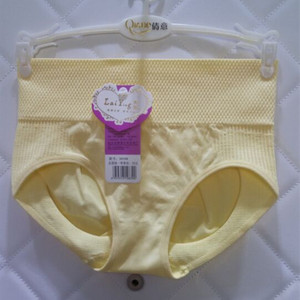 4 包邮 eo tam giác tóm tắt nữ mồ hôi thấm cơ thể liền mạch không có dấu vết đàn hồi cao bụng tibial Lycra cotton