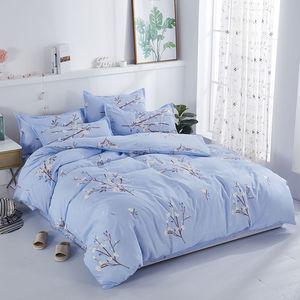 床上用品床单三件套被罩双人单人单件被套四件套被套床单