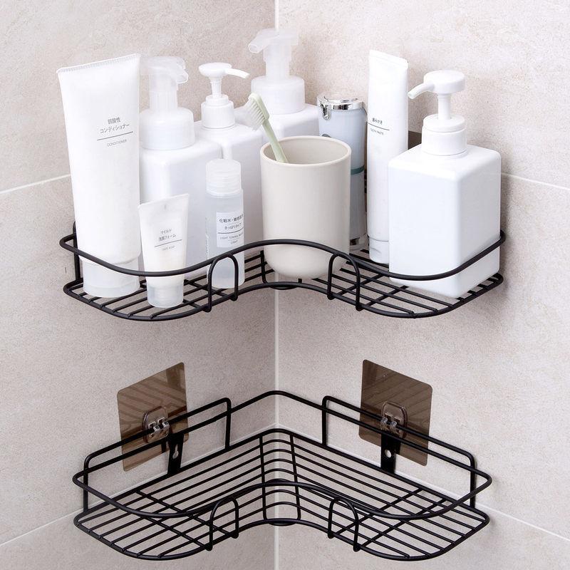 浴室置物架免打孔厕所洗手间马桶毛巾架壁
