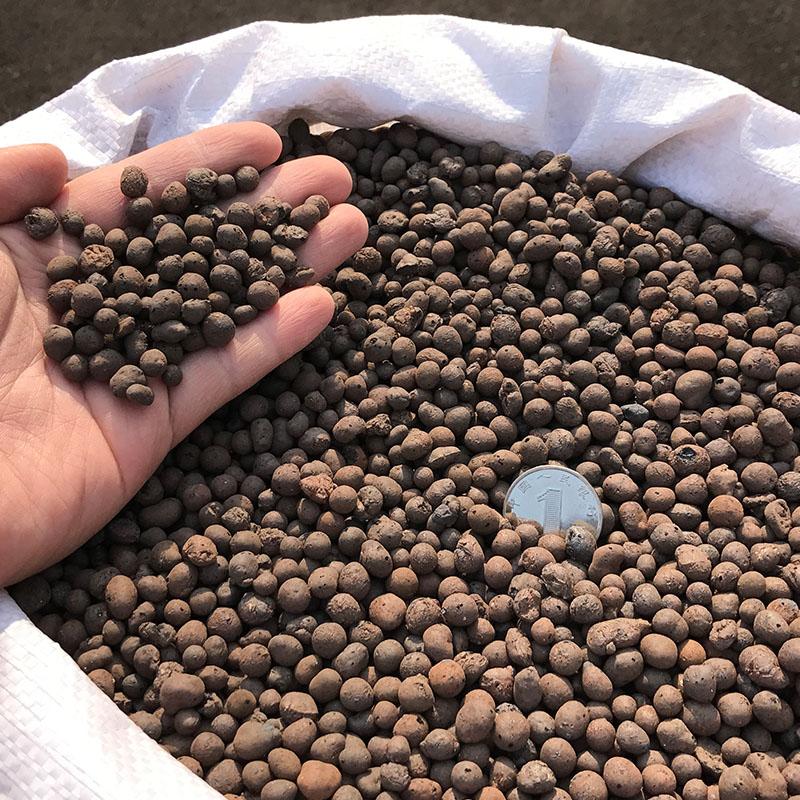 陶粒花用垫底多肉盆栽铺面石轻质陶土水培鱼缸透气小碳球园艺回填