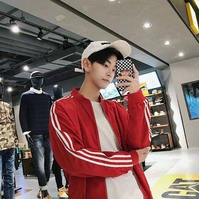 2017 mùa thu đồng phục bóng chày áo khoác Hàn Quốc phiên bản của người đàn ông tươi nhỏ của áo khoác quần áo nam casual ba-bar áo Đồng phục bóng chày
