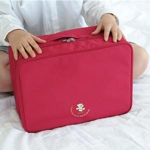 Túi du lịch gấp túi du lịch nữ tay ngắn- khoảng cách có thể được thiết lập xe đẩy trường hợp du lịch nam vai túi lưu trữ quần áo