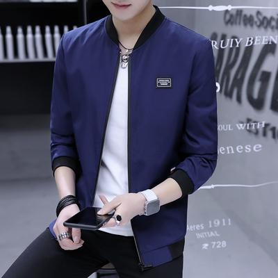 Áo khoác nam mùa xuân và mùa thu Hàn Quốc phiên bản của xu hướng của mùa xuân áo khoác 2018 mới mùa xuân mùa xuân thường mỏng đẹp trai quần áo Đồng phục bóng chày