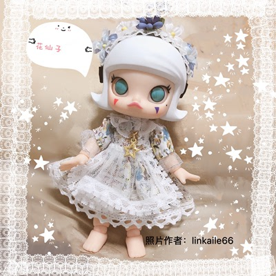 taobao agent Spot free shipping)molly dress ob11 Wei Ya doll clothes Little Red Riding Hood 1/6 points bjd4 points Xiaobu 8 points
