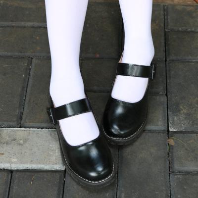 taobao agent cosplay Lolita round leather shoes Rem Ram maid cos shoes Japanese JK uniform cos shoes Rem cos shoes
