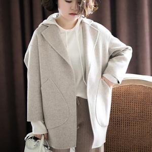 Chống mùa thu 2018 lông cừu mới len áo len nữ Hàn Quốc phiên bản của một nhỏ áo len ngắn