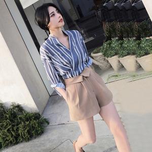2018小香风洋气韩版闺蜜两件套