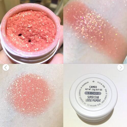 Colourpop Kara bong bóng colorpop ướt và khô eyeshadow bột CAMEO thẻ bong bóng bóng mắt bột 12 màu sắc