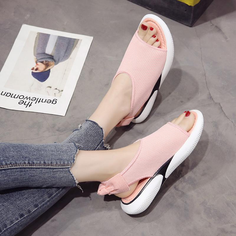 ins超火夏季新款网面透气鞋子-优惠后100元包邮