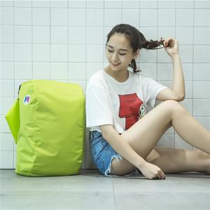 Công suất lớn không thấm nước nam giới và phụ nữ siêu nhẹ Hàn Quốc phiên bản của da ba lô du lịch có thể gập lại vai duy nhất túi lưu trữ di động túi