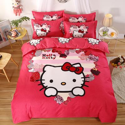 【全尺寸】新中式全棉四件套床单被套