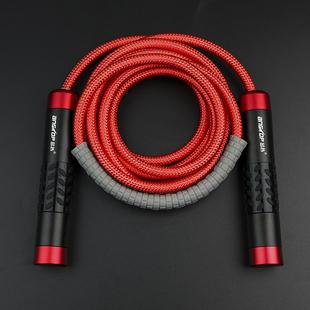 跳绳负重轴承加粗加重健身绳子