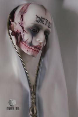 taobao agent US DOLL BJD 70 Series De'Ath + Skull Edition +