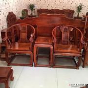 Đích thực Miến Điện rosewood bằng gỗ cung điện ghế ba mảnh thiết lập của Trung Quốc-phong cách vòng tròn ghế lớp ghế phong cách Trung Quốc phòng khách cổ