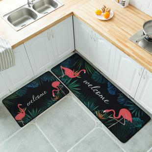 【尊度】厨房地垫长条防水防油防滑脚垫地毯