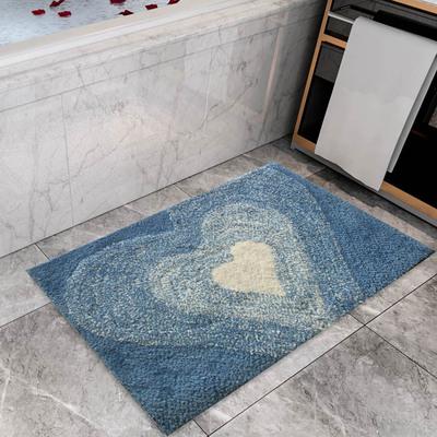 北欧地毯门垫防滑水晶绒地垫入户垫