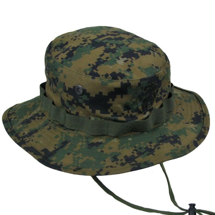 Boutique thể thao ngoài trời ngụy trang quần áo quân đội fan hâm mộ lĩnh vực cung cấp bông vải vòng hat Benni hat mười màu tùy chọn
