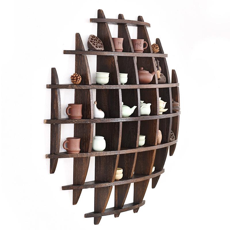 16 92 Anese Tea Cup Rack With Wall Bogu Set Display