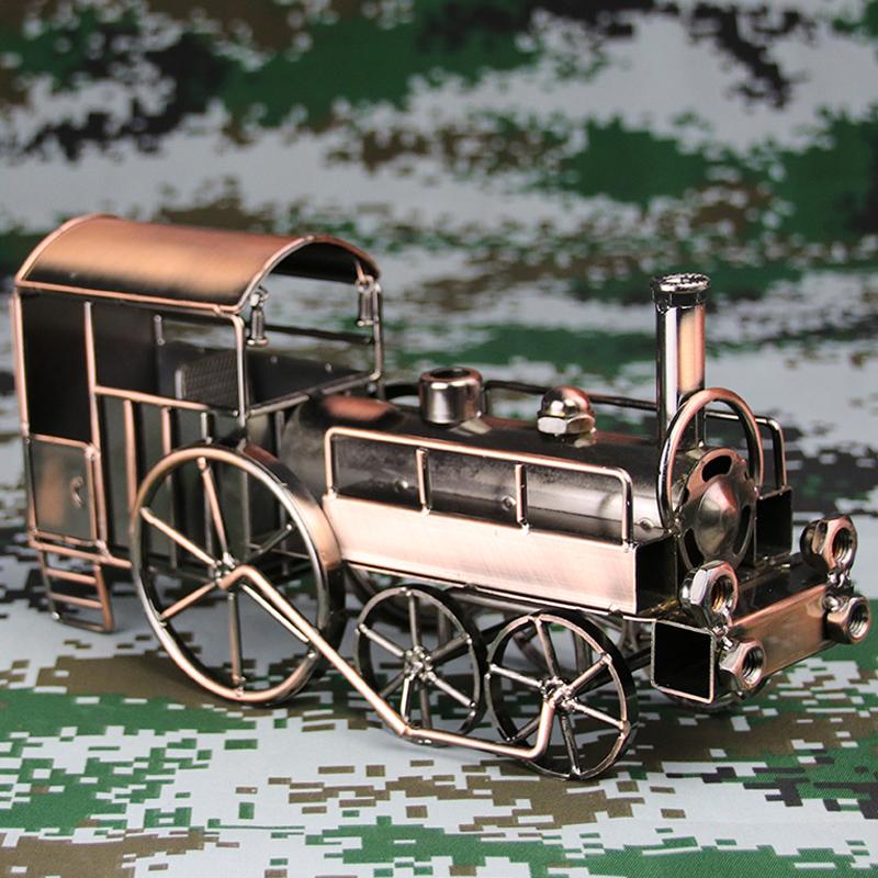 复古手工金属火车,送朋友同学礼物