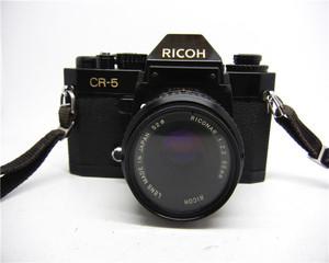 Ricoh cr-5 +55 2.2 ống kính 135 phim máy ảnh cũ nhiếp ảnh thực hành bộ sưu tập