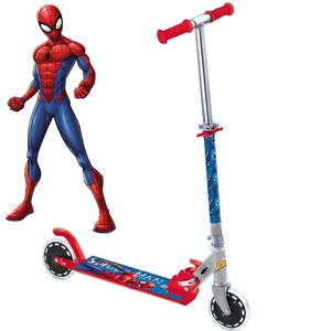 Gốc xác thực có thể gập lại có thể điều chỉnh cao và thấp 2 bánh xe scooter xe đẩy Spiderman và xe tay ga khác nhôm hợp kim magiê