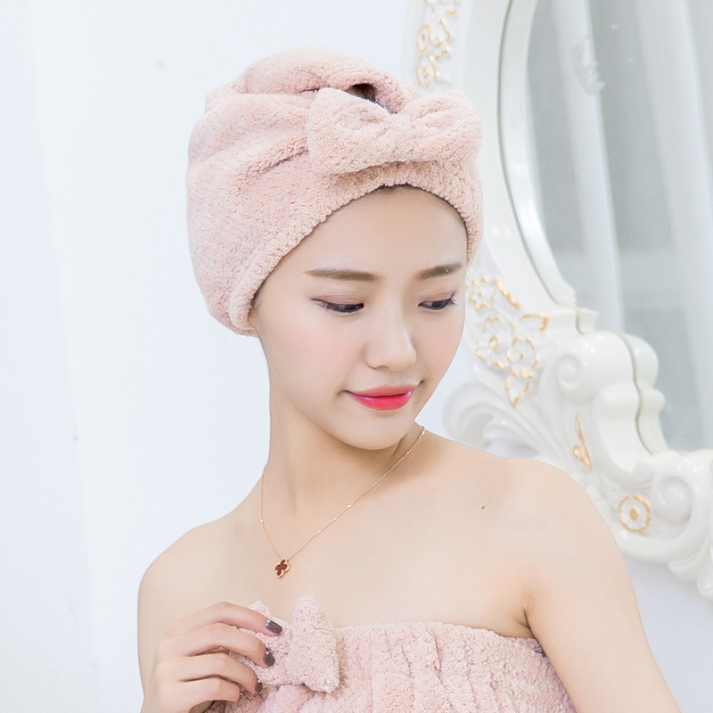 浴巾帽子吸水干发包头斤干发帽吸水成人女款洗头帽女士浴帽包头巾