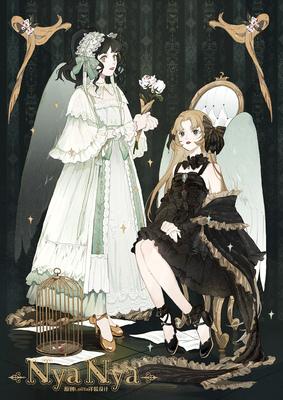 taobao agent Sixteen Nights Carol Collection Collection NyaNya Original Lolita Dress