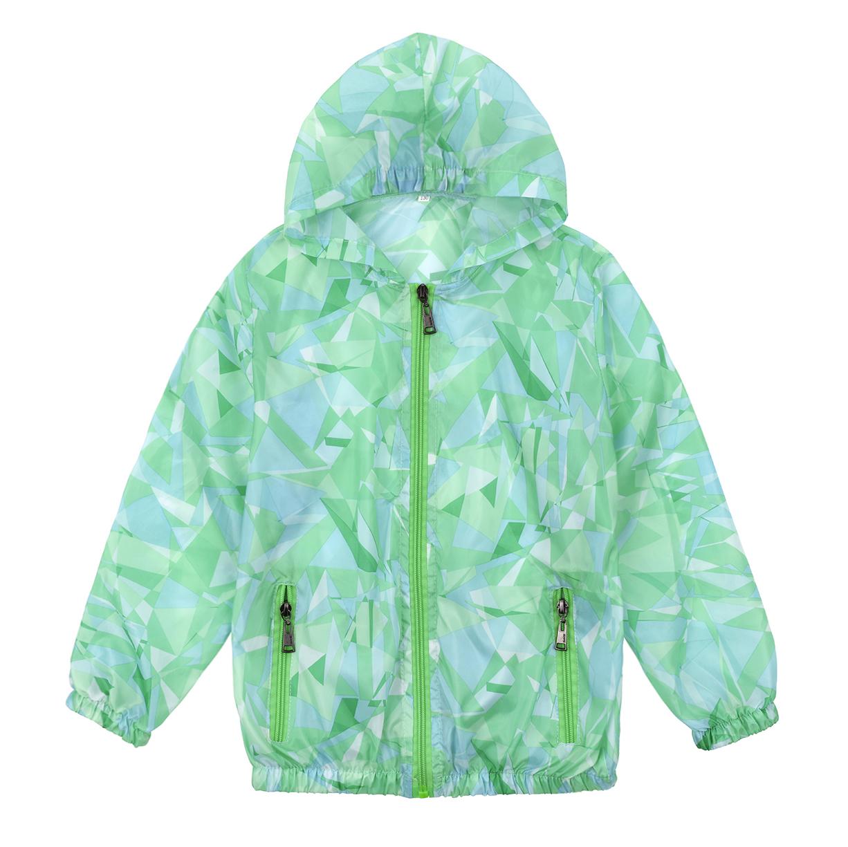 Trẻ em của mặt trời bảo vệ quần áo áo khoác mùa hè cậu bé chống nắng quần áo ánh sáng và thoáng khí cô gái bé ngụy trang quần áo da điều hòa không khí dịch vụ