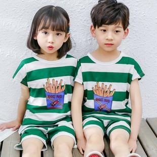 【100%纯棉】儿童居家户外空调服套装