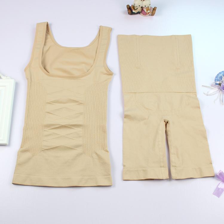 Micro-kinh doanh với sau sinh corset phù hợp với eo cao bụng đồ lót eo hình hip ngực hip quần chia phù hợp với