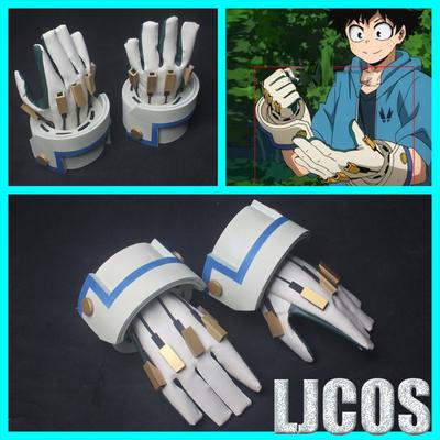 taobao agent 【LJCOS】My Hero Academia Bakugo Katsuki Gloves Cosplay Props