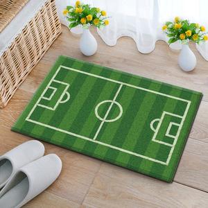 Sân bóng đá sân bóng rổ mat màu xanh lá cây cửa mat phòng khách phòng ngủ trẻ em phòng tắm phòng tắm thấm thảm