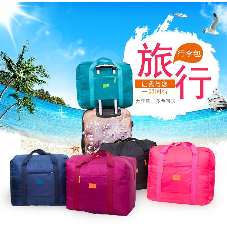 Túi du lịch đóng mở tay áo xe đẩy hộp đa chức năng ánh sáng và nước mắt kháng mạnh mẽ hành lý xách tay dung lượng lớn túi lưu trữ