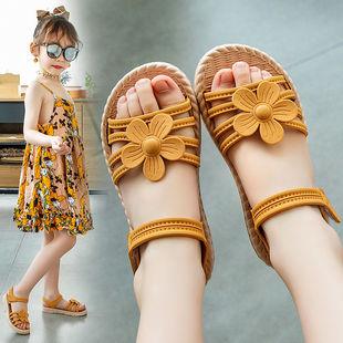 小女孩公主鞋沙滩鞋韩版凉鞋
