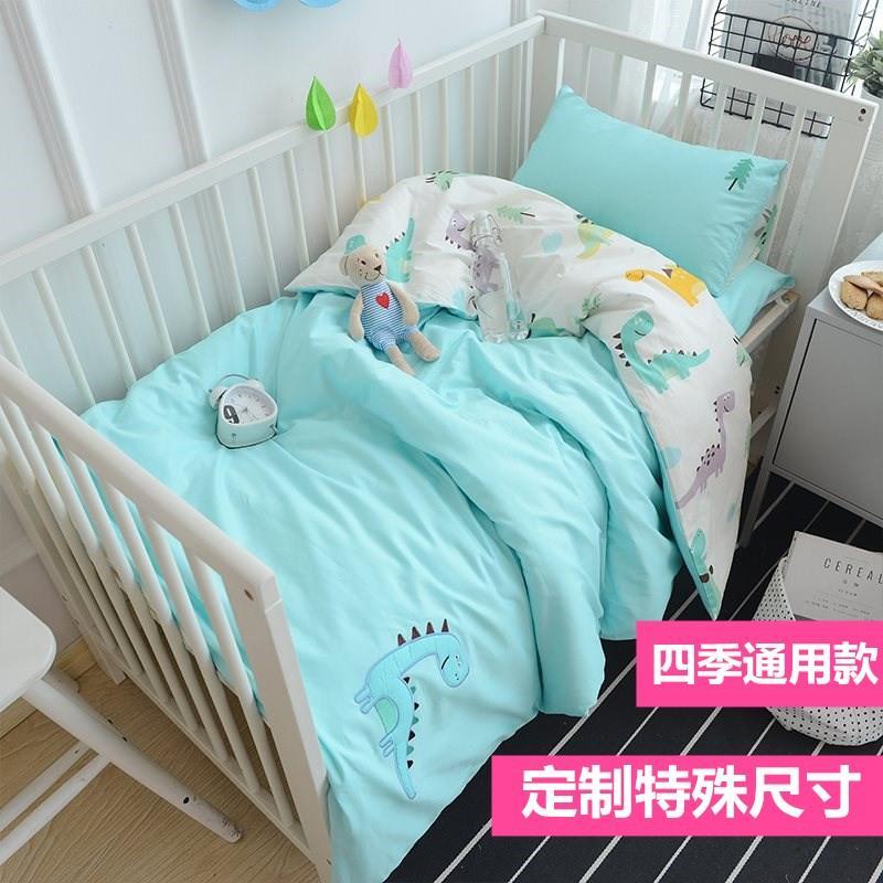 Giường trẻ em bảy mảnh cho bé sáu mảnh mùa thu và mùa đông đặc biệt cho bé mẫu giáo ba mảnh mẫu giáo - Bộ đồ giường trẻ em