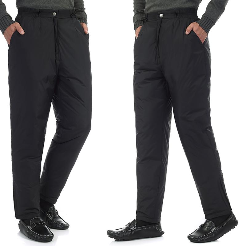 Mua cho người đàn ông 60 tuổi 50 mặc quần áo trung niên của nam giới xuống quần 40 mặc quần nam dày của mùa đông