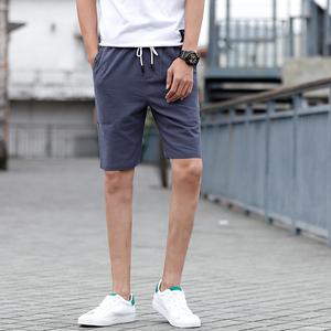 休閑短褲男夏天2018新款男士寬松運動大褲衩夏季沙灘五分褲06