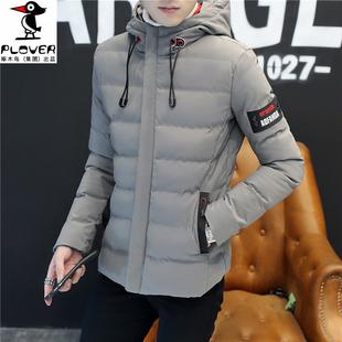 啄木鸟冬季男装休闲加厚棉服外套