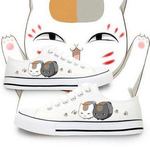 Niangkou Sansan Xiamu bạn bè tài khoản mèo giáo viên giày anime xung quanh giúp đỡ thấp tay sơn nam giới và phụ nữ vài giày vải
